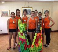 Pirámides creativas con el grupo de Advanced
